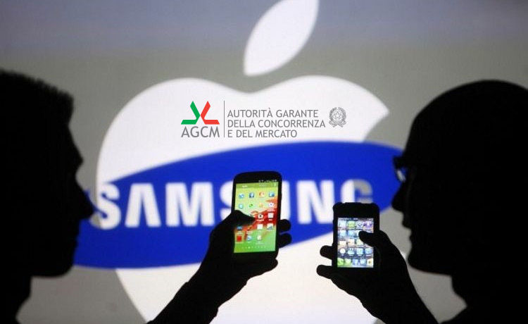 L'Antitrust multa Apple e Samsung per obsolescenza programmata: 15 milioni di multe in totale
