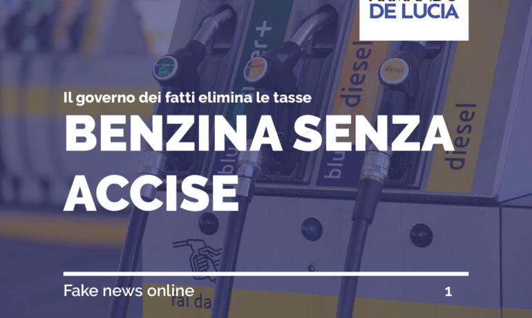 Benzina senza accise a € 0.72 : il governo dei fatti elimina le tasse. Promessa mantenuta!