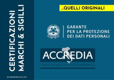 [GDPR] Firmato l'accordo per le VERE certificazioni sulla protezione dati