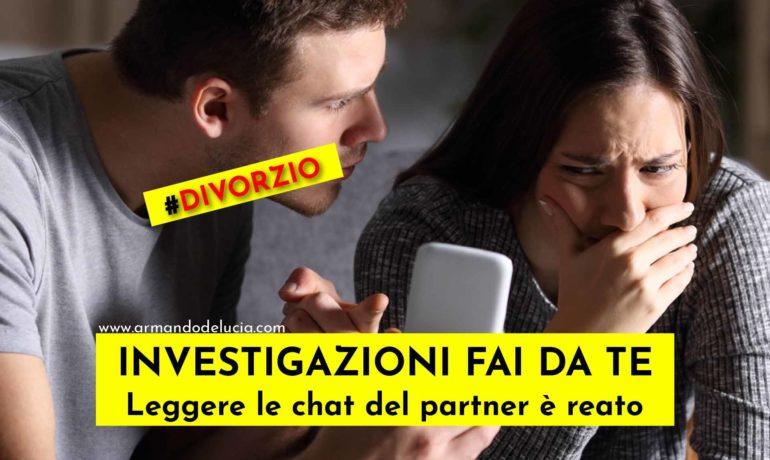 Scopre nel profilo Skype della moglie la chat con l'amante: è reato!