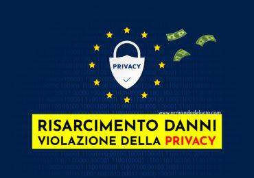 Risarcimento per violazione della privacy